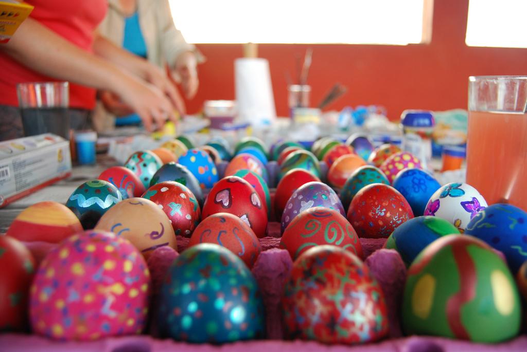 Regalar huevos de pascua es una de las tradiciones más extendidas alrededor del mundo
