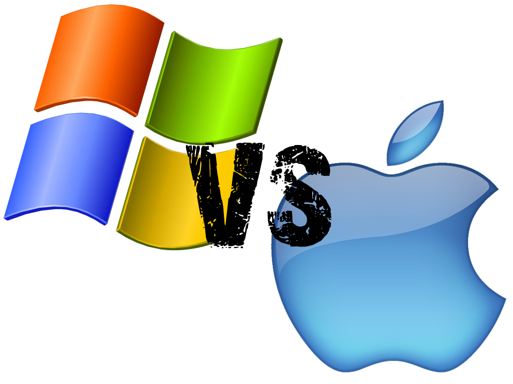 LA GUERRA APPLE VS WINDOWS HECHA VÍDEO
