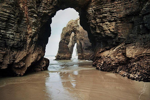 Playa de las Catedrales, Lugo