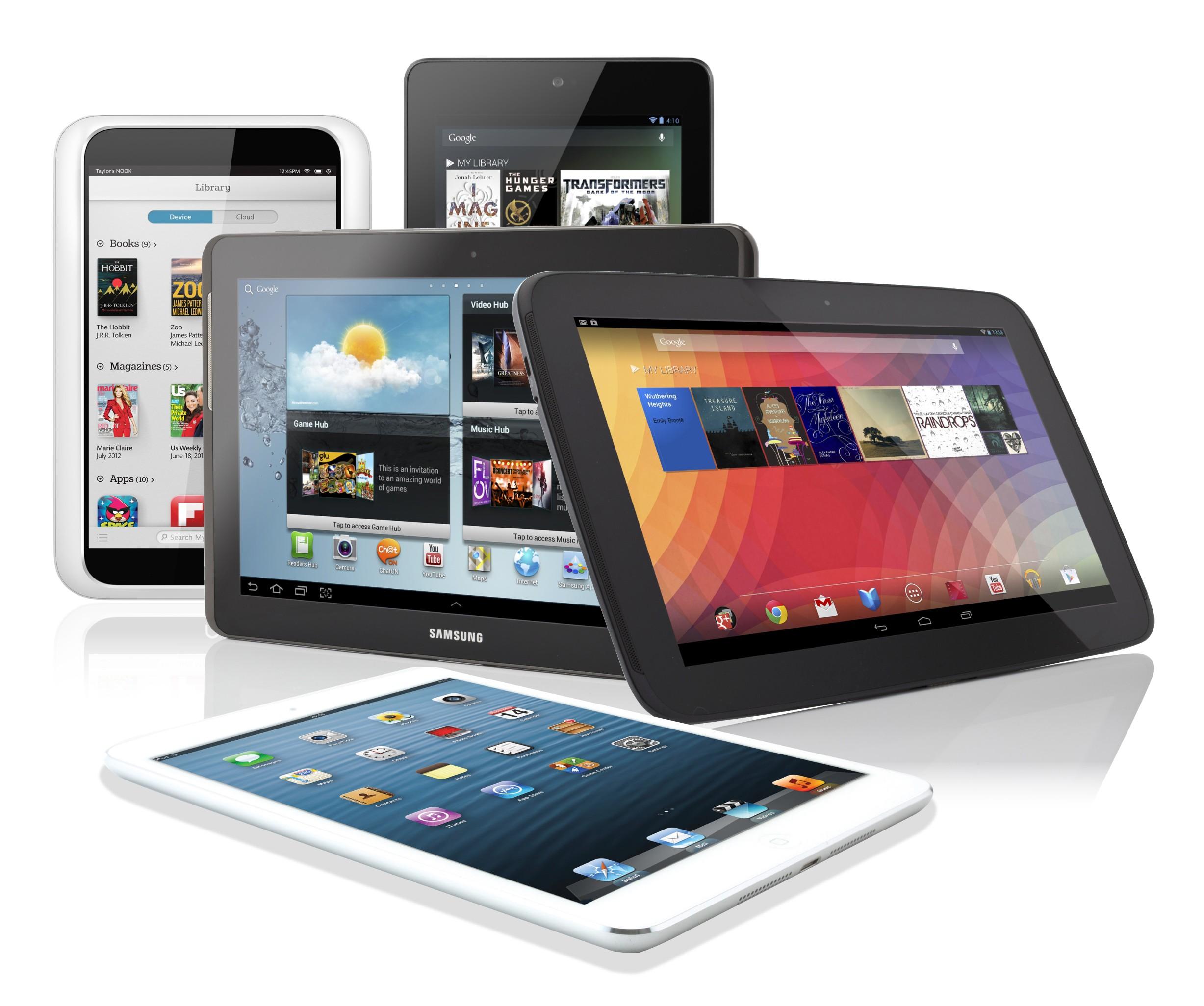 Las tablets crecerán hasta que en 2017 superen a los ordenadores como dispositivo más usado