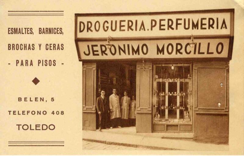 El origen de la palabra droguería.