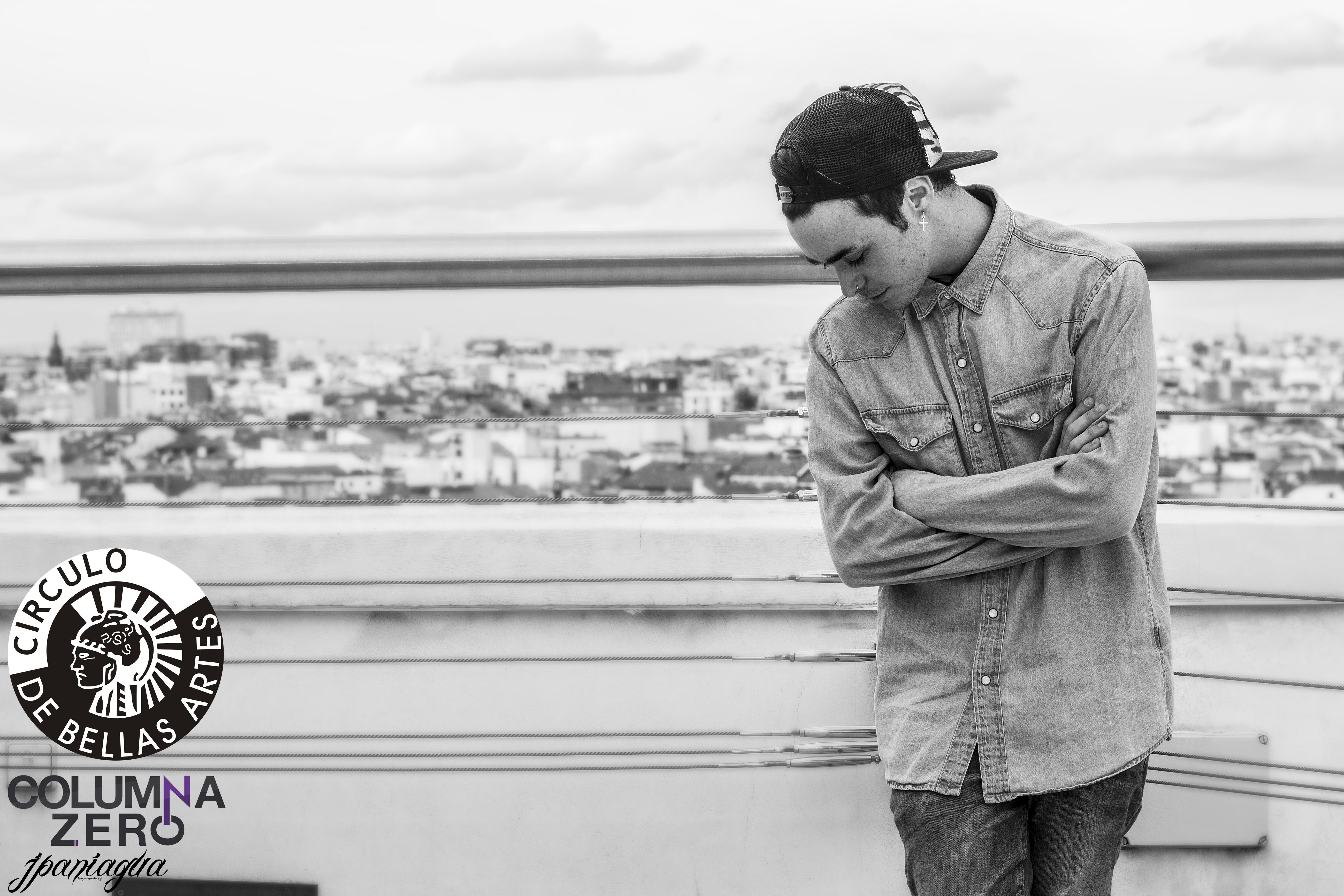 Una entrevista de Víctor Marfil para ColumnaZero (Fotografía: Julio Paniagua)