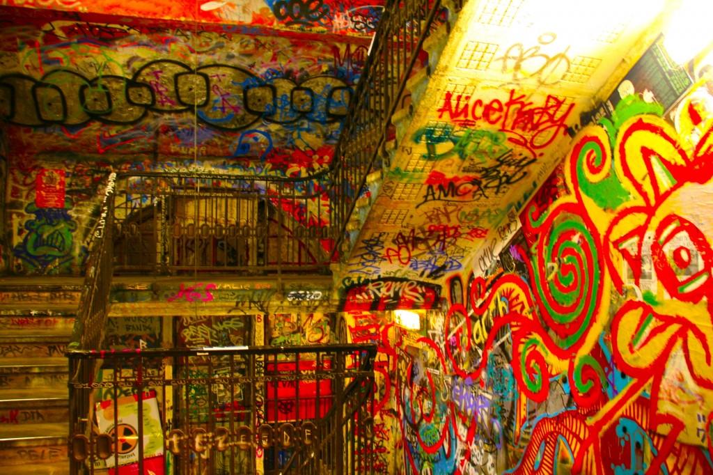 Interior de Tacheles.