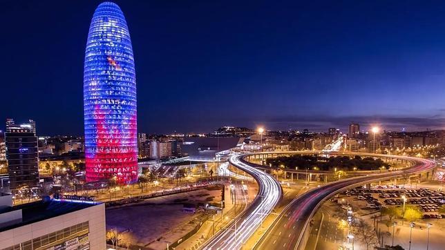ColumnaZero visita Barcelona.