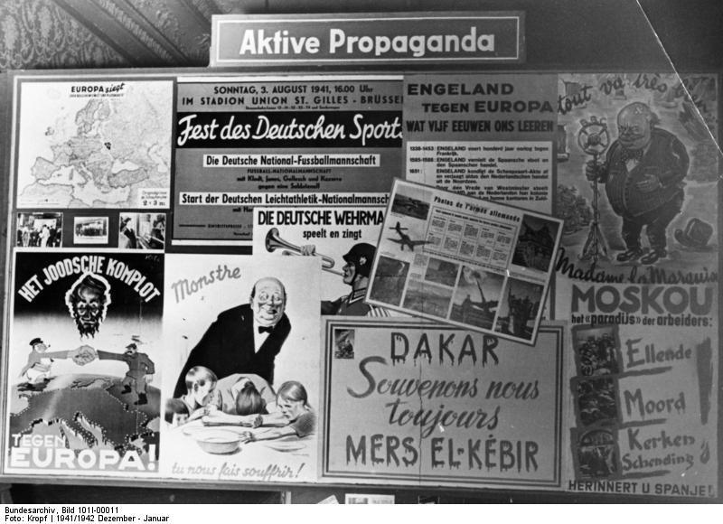 LA PROPAGANDA COMO BASE DEL NAZISMO