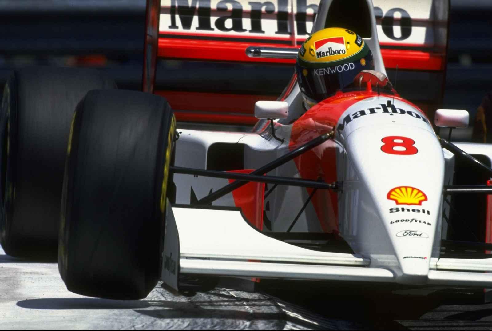 Ayrton Senna: ser el segundo no era una opción.