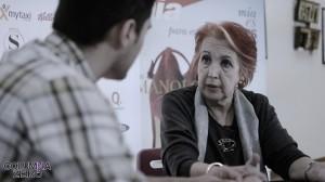 Una entrevista de Isaías Blázquez para ColumnaZero (Foto: Víctor Marfil)