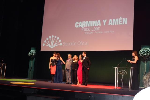 CARMINA Y AMÉN DESLUMBRA EN EL FESTIVAL DE MÁLAGA