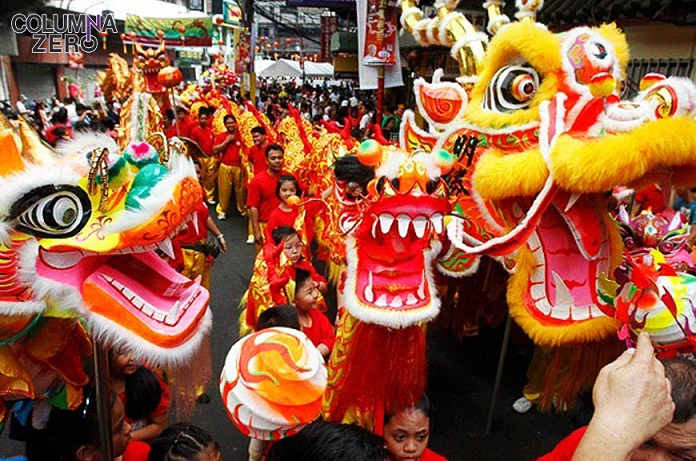 En la celebración del Año Nuevo Chino la comunidad china celebra su cultura extendiendo eventos para todas las edades que colapsan la ciudad.