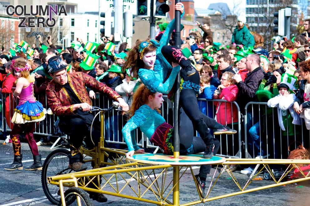 Con la llegada del 17 de marzo la ciudad de Sídney se vistió de verde y se inundó con cerveza.