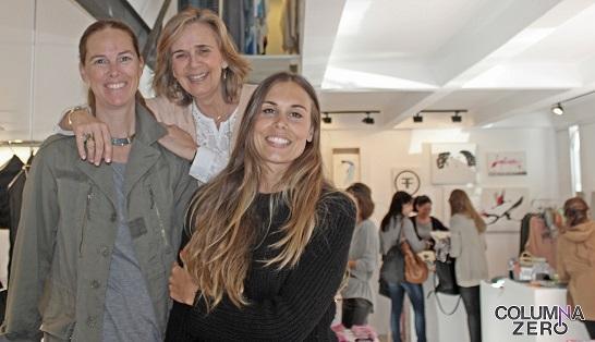 María José, Elena y su compañera María.