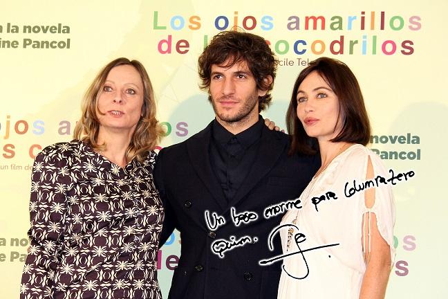 Crítica Cine Y Entrevista A Los Protagonistas Los Ojos Amarillos De Los Cocodrilos Columnazero