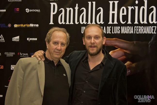 LA PANTALLA HERIDA SE PREESTRENA EN MADRID ARROPADA POR LA INDUSTRIA
