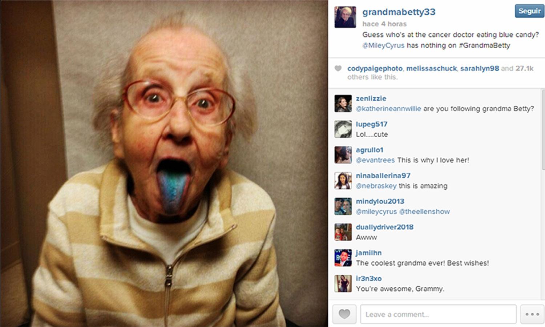 Betty jo simpson adi s a la abuela de instagram columnazero - La cocina dela abuela ...