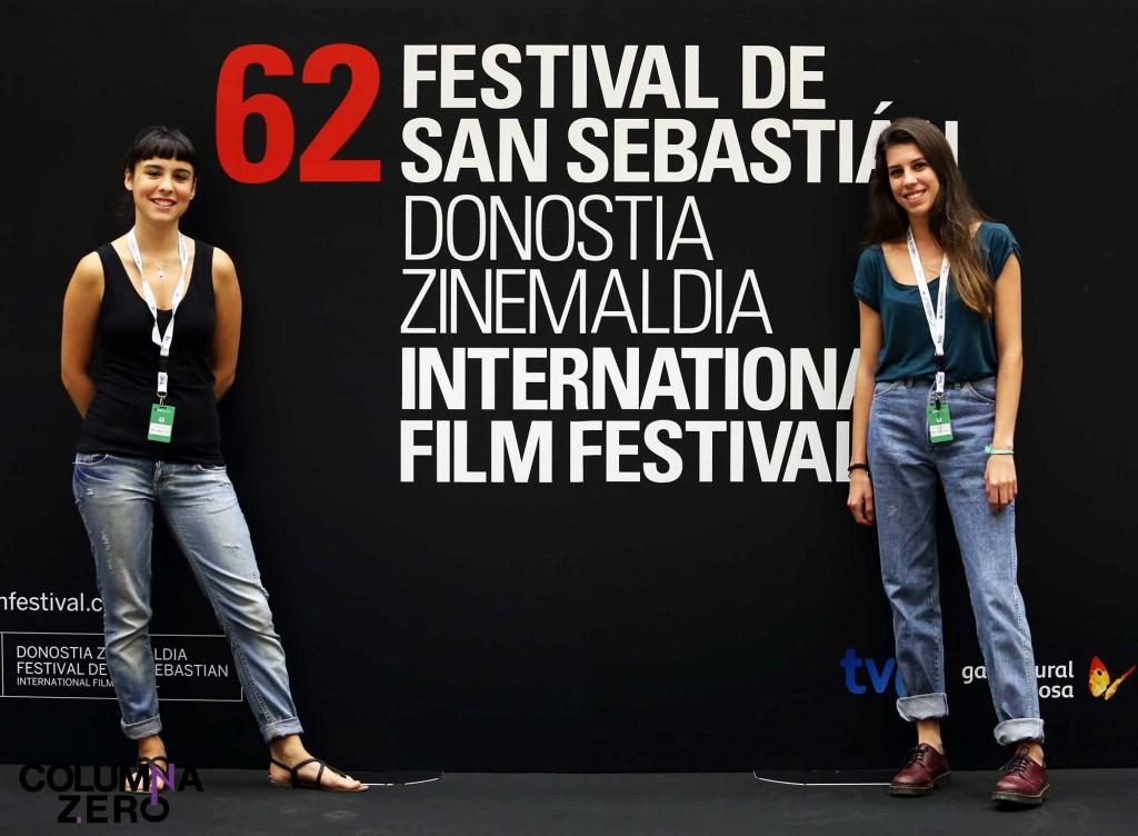 A la izquierda, Leire Romera. A la derecha, Blanca Ramos. Colaboradora y Redactora Jefe de ColumnaZero Cine.