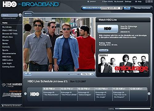 HBO PREPARA SU PLATAFORMA ONLINE