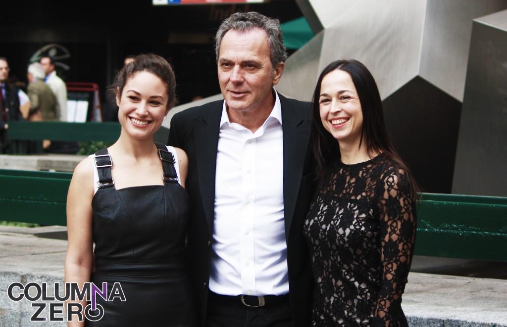 ENTREVISTA: JOSÉ CORONADO, AIDA FOLCH Y LUIS MARÍAS (FUEGO)