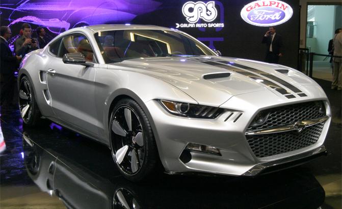 Gas Rocket Mustang.