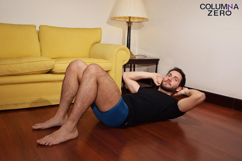 David Mora en calzoncillos Calvin Klein.