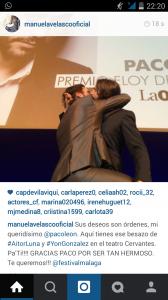 Captura Instagram.