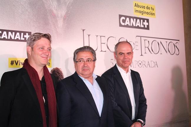 EL ALCÁZAR SE DISFRAZÓ DE REINO DE DORME EN EL PREESTRENO DE JUEGO DE TRONOS