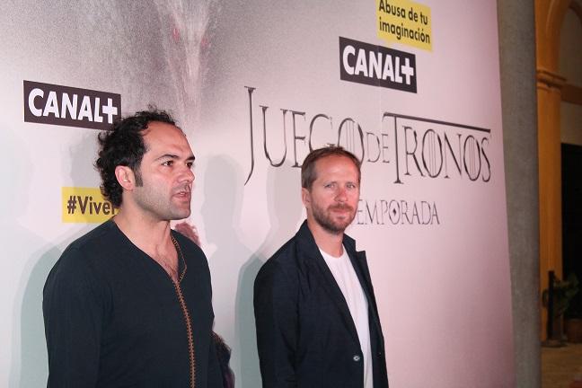 Alfonso Sánchez y Alberto López (Foto: Pedro Pablo Muñoz para ColumnaZero)
