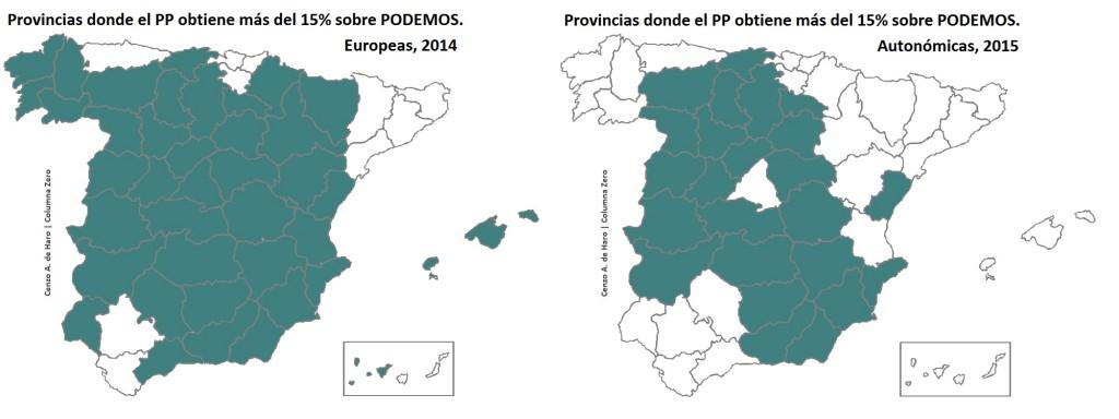 ELECCIONES AUTONÓMICAS Y MUNICIPALES 2015 EN MAPAS