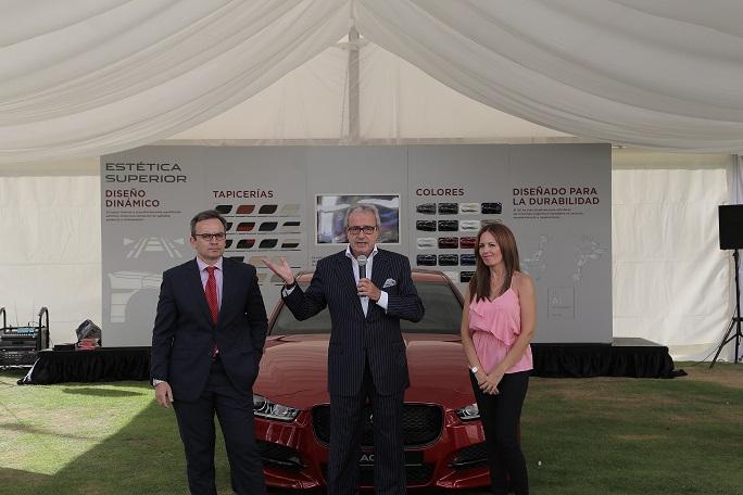 El acto fue presentado por Antonio Armas, Presidente de Más Motor Canarias e Ignacio Vega Armas