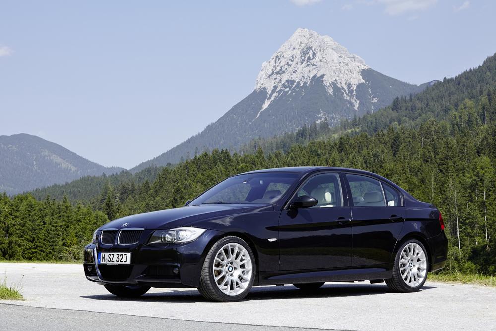 40º ANIVERSARIO Y SEIS GENERACIONES DEL BMW SERIE 3