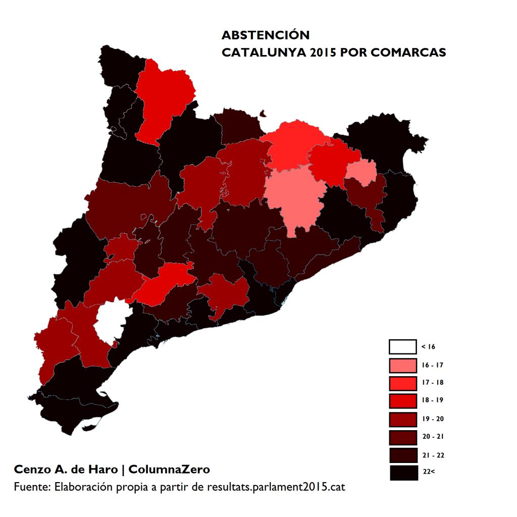 CATALUNYA 27S, LECTURA REPOSADA DE LOS RESULTADOS