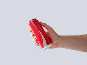 No-logo usado por Coca Cola.