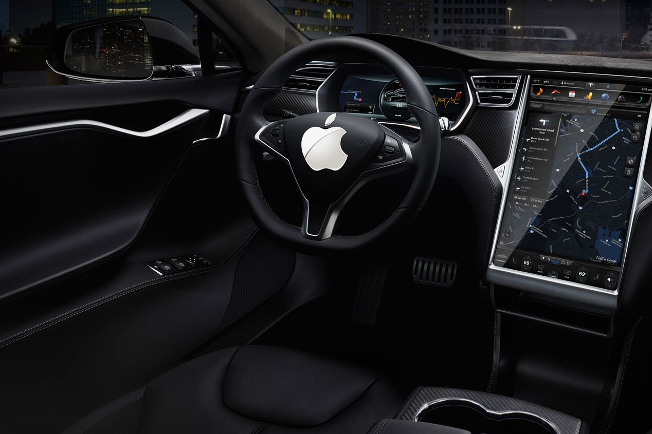 LOS PRIMEROS DATOS DEL APPLE CAR